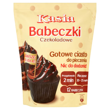 KASIA Ready made chocolate cake muffins 500g