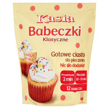 KASIA Ready-made cake for baking classic muffins 500 g