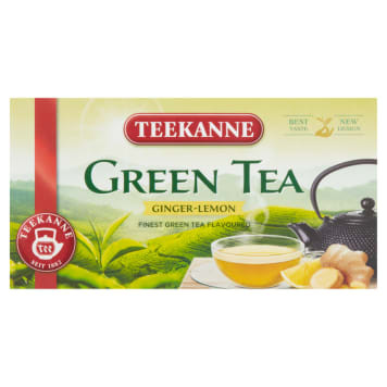 TEEKANNE Green Tea Green tea Ginger-Lemon 20 bags 35g