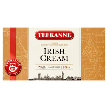 TEEKANNE Irish Cream Black tea with a liqueur flavor 20 bags 33 g