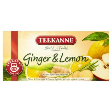 TEEKANNE World of Fruits Herbal-fruit tea Ginger & Lemon 20 bags 35g