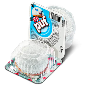 ETI Puf Biscuit with marshmallow foam and coconut grated 16g
