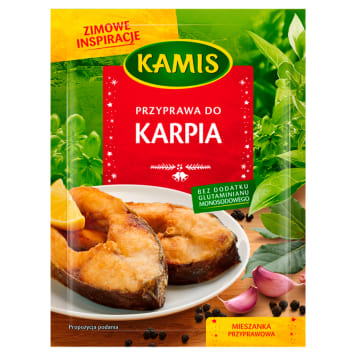 KAMIS Zimowe inspiracje Spice mix seasoning for carp 30g