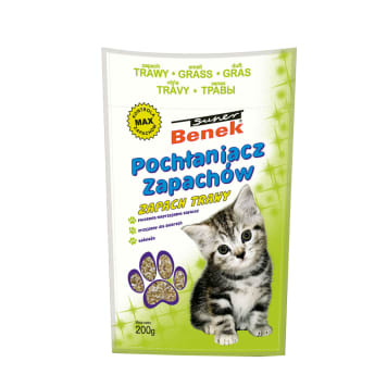 SUPER BENEK Odor absorber - the smell of grass 200g