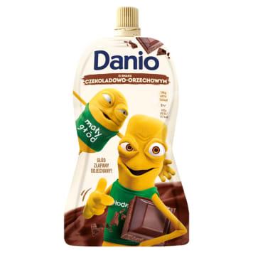DANONE DANIO Serek homogenizowany o smaku  czekoladowo orzechowym - saszetka 140g