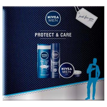 NIVEA MEN Zestaw żel pod prysznic, antypespirant, krem 1szt