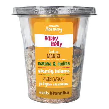GREAT MORNING Breakfast mix with fiber (HAPPY BELLY) 175 g