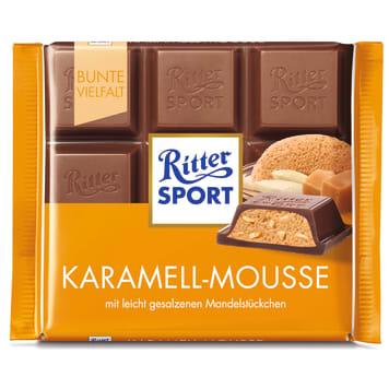 RITTER SPORT Chocolate caramel mousse 100g
