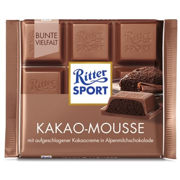 RITTER SPORT Chocolate with cocoa mousse 100 g