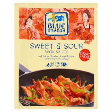 Sos słodkokwaśny na patelnię - Blue Dragon. Orientalny dodatek do dań z patelni lub woka.