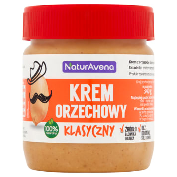 NATURAVENA Creamy peanut butter 340g