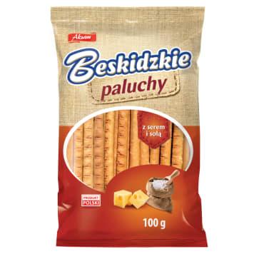 BESKIDZKIE Toasts with cheese and salt 100g
