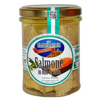 EMPERATRIZ Wild Alaskan salmon in olive oil 200g
