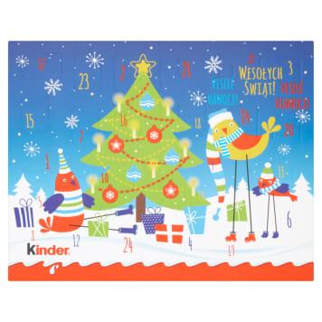 KINDER Kalendarz adwentowy - czekoladki BN 127g