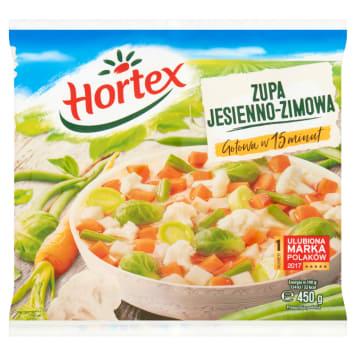 Jesienno-zimowa zupa mrożona – Hortex. Kompozycja najwyższej jakości warzyw.