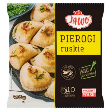 Pierogi ruskie mrożone - JAWO. Starannie wykonane, łatwe w przygotowaniu.