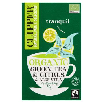 Zielona herbata z aloesem - Clipper
