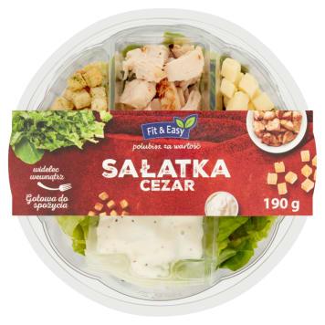 FIT&EASY Sałatka cezar 190g