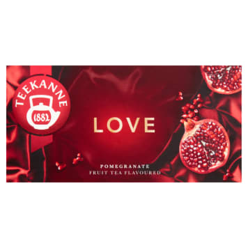 TEEKANNE Love Fruit tea Pomegranate 20 bags 50g