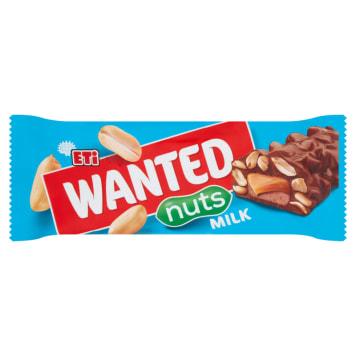 ETI Wanted Nut bar 45g