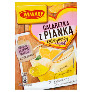 WINIARY Galaretka z pianką cytrynowa 72g