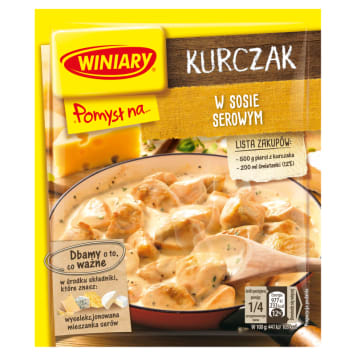 WINIARY Pomysł na... Chicken in a cheese sauce 28g