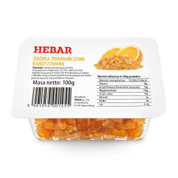 HEBAR Candied orange peel 100g