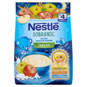 NESTLÉ Na Dobranoc Milky-rice porridge with apple - after 4 months 230g