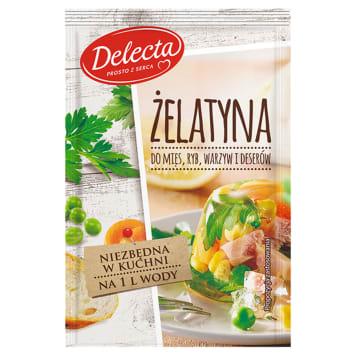 DELECTA Żelatyna do mięs ryb warzyw i deserów 20g