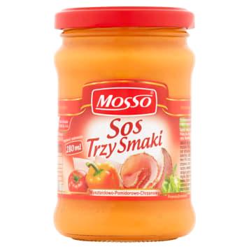 MOSSO Three flavors sauce 240g