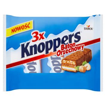 KNOPPERS Nut bar 3x40g 120g