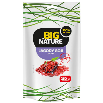 BIG NATURE Dried goji berries 250g