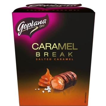 GOPLANA Chocolate Caramel Break 144g