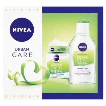 NIVEA Urban Care Zestaw krem na dzień i płyn micelarny 1szt