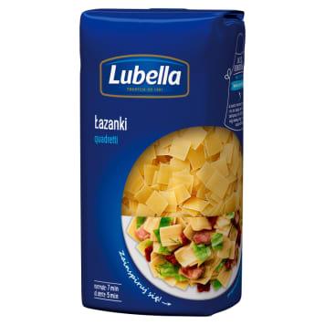 Makaron łazanki - Lubella. Gwarancja doskonałego smaku zapewniona przez pszenicę wysokiej jakości.