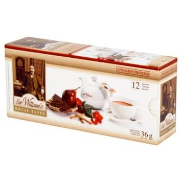 SIR WILLIAM'S ROYAL TASTE Tea Cinnamon Princess 12 bags 36g