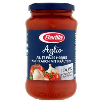 BARILLA Aglio Sos pomidorowy z czosnkiem, czerwonym winem i ziołami 400g