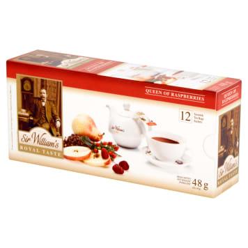 SIR WILLIAM'S ROYAL TASTE Herbata Queen of Raspberries 12 saszetek 48g