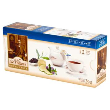 SIR WILLIAM'S ROYAL TASTE Tea Royal Earl Grey 12 bags 36g