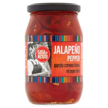 CASA DE MEXICO Jalapeno red pepper cut 340g