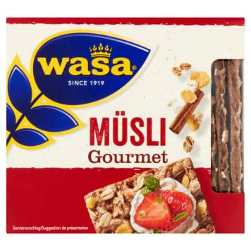 WASA Gourmet Crunchy rye bread with muesli 220g