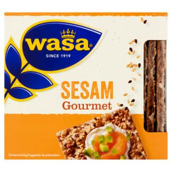 WASA Gourmet Pieczywo chrupkie żytnie z sezamem 220g