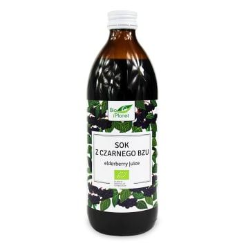 BIO PLANET Elderberry juice BIO 500 ml