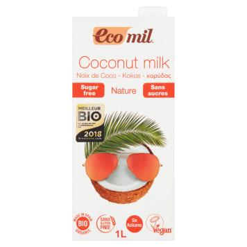 Napój kokosowy niesłodzony Ecomil - do picia, płatków oraz sosów