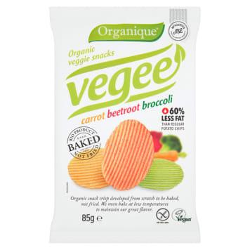 Chipsy warzywne - Organique. Doskonała alternatywa dla klasycznych chipsów, zdrowa i pyszna przekąska.