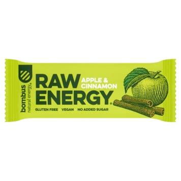 BOMBUS RAW ENERGY Baton jabłko-cynamon 50g