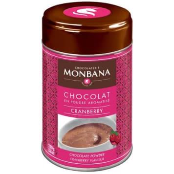 MONBANA Cranberry drinking chocolate 250g
