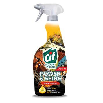 Cif - Płyn do czyszczenia Przeciw Tłuszczowi. Skutecznie czyści i odświeża kuchenne powierzchnie.