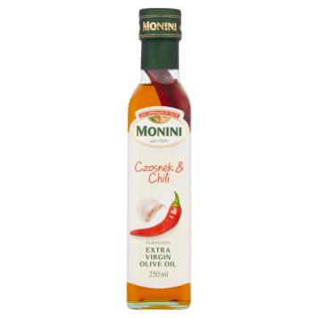 Oliwa z oliwek Extra Vergine z czosnkiem i chilli - Monini
