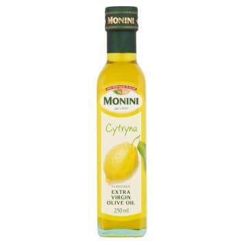 Oliwa z oliwek Extra Vergine z cytryną  - Monini. Dodaje potrawom smaku.